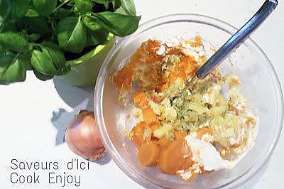 Recette d 39 ecras de patate douce et basilic - Recette patate douce blanche ...