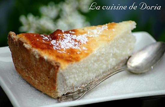 Recette de tarte au flan et la noix de coco for En cuisine avec coco