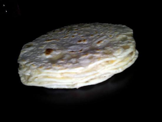 recette Galettes tortillas mexicaine fait maison