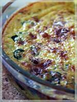 recette Gratin de blettes au curry