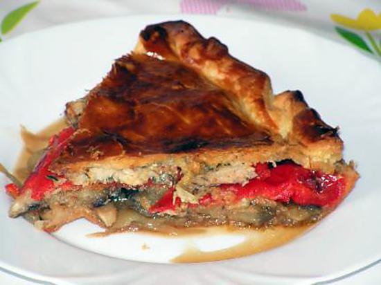recette Quiche Andalouse