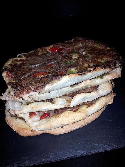recette Pizza turque (lahmacun)