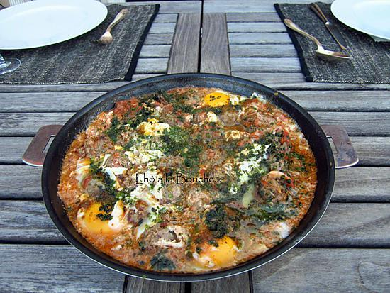 recette Keftas aux œufs...
