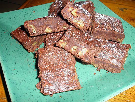 recette de brownie chocolat et noix. Black Bedroom Furniture Sets. Home Design Ideas
