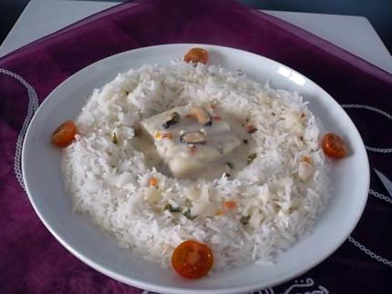 recette Cabillaud aux moules