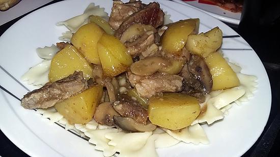 recette Ragoût d'échine de porc