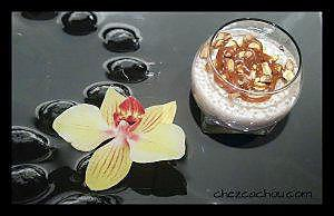 recette Perles du Japon aux noisettes