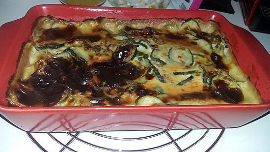 recette de gratin de courgettes a la viande hach e et b chamel. Black Bedroom Furniture Sets. Home Design Ideas