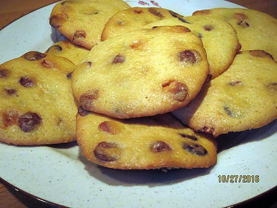 recette cookies 3 chocolat