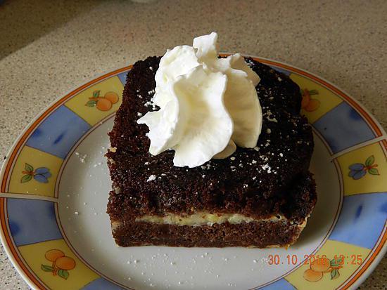 recette Gâteau de pain perdu ( cake ) chocolat bananes