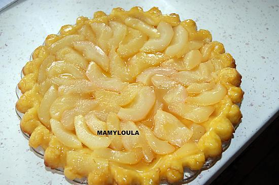 recette Tarte tatin aux poires