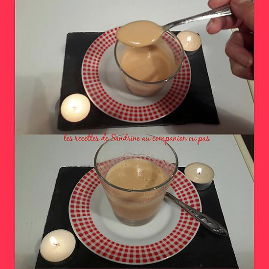 recette Crème caramel façon danette au companion ou autres robots