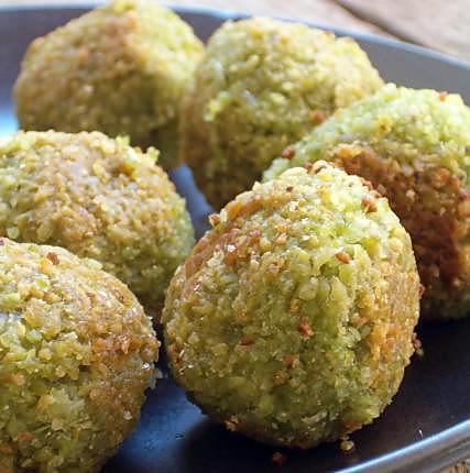 recette Falafels aux pois chiches et boulghour (sans friture)