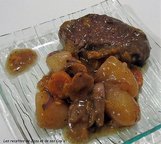 Recette de b uf bourguignon la mijot 39 cook seb - Boeuf bourguignon cocotte minute seb ...