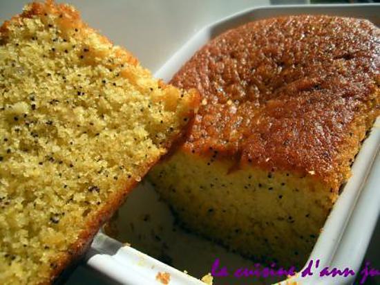 recette de cake orange pavot sans gluten. Black Bedroom Furniture Sets. Home Design Ideas