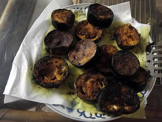 recette Baingan Bhaja (Aubergines frites à l'indienne)