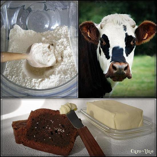 Recette de g teau chocolat noir et beurre sal - Gateau chocolat beurre sale ...