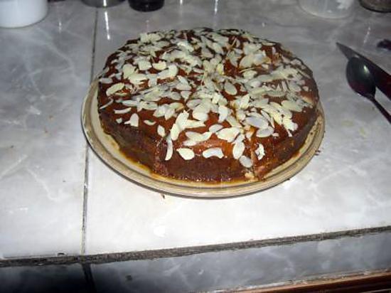 recette Gâteau danois aux pommes