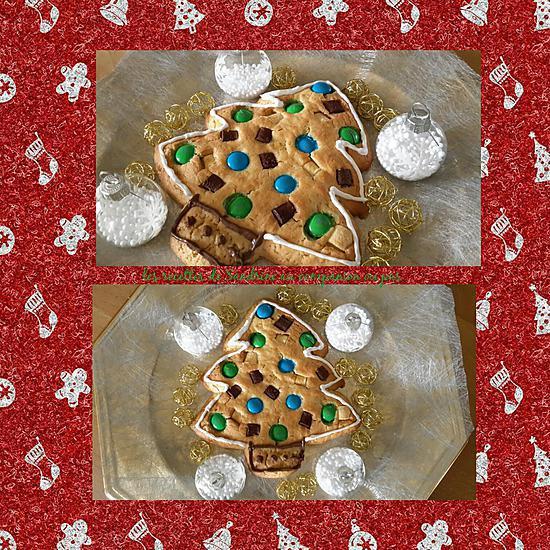recette Cookies sapin de noël (au companion ou autres robots)