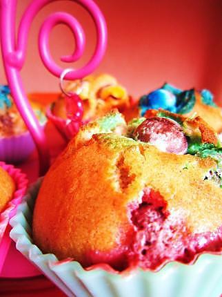 recette Muffins aux M&Ms