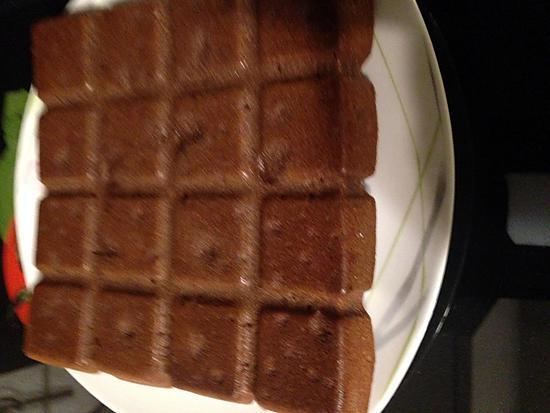 recette Fondant à la crême de marron, morceaux de spéculos