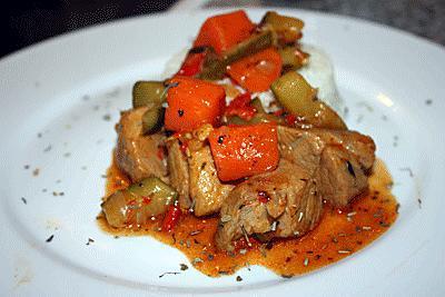 Recette de rago t de porc ma fa on - Cuisiner rouelle de porc en cocotte minute ...