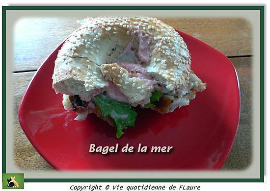 recette Bagel de la mer
