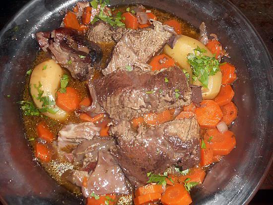 recette Paleron braisé au beaujolais