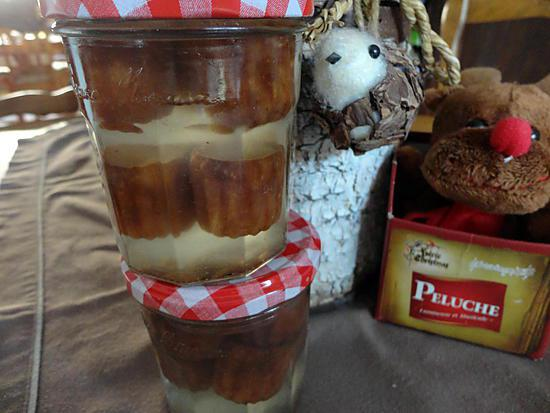 recette cannelé en bocaux