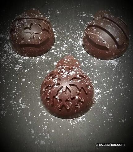 recette Coques de Noël au chocolat
