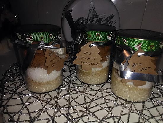 recette de kit riz au lait au speculoos cadeau a offrir. Black Bedroom Furniture Sets. Home Design Ideas