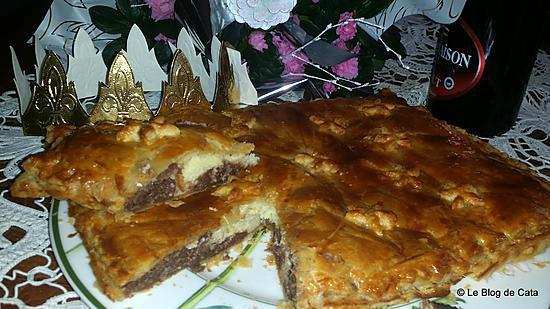 recette Galette des rois frangipane et chocolat