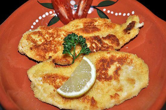 recette Escalope de Poulet à la Milanaise