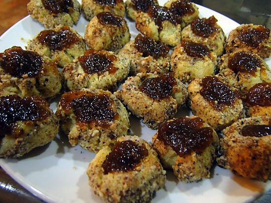 """recette Petits biscuits """"coup de pouce"""" aux noisettes"""