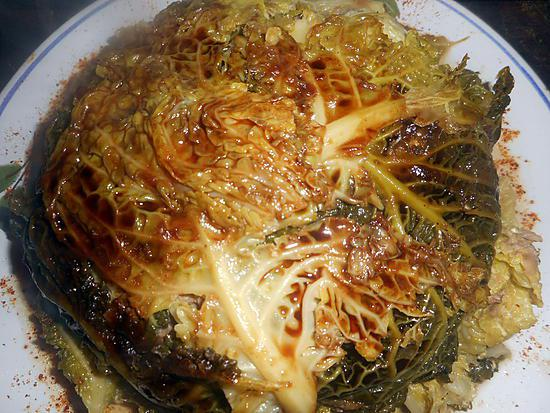 recette de chou farci 224 la viande de pot au feu
