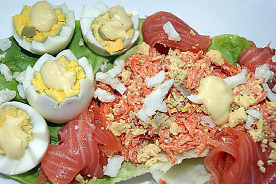 recette Tous les poissons, crustacés, escargots, grenouilles.... et oeufs de Mamyloula jusqu'à ce jour... (2)
