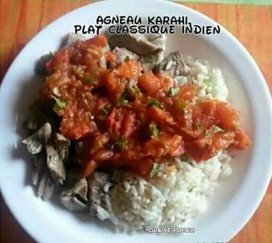recette Agneau Karachi