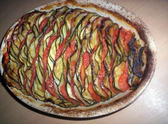 recette Gratin de légumes à la provençale