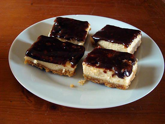 recette dés de chocolat-vanille
