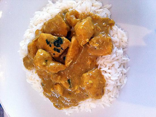 recette de curry de poulet korma. Black Bedroom Furniture Sets. Home Design Ideas