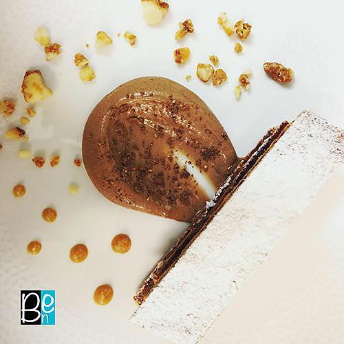 recette Le mille-feuilles chocolat praliné