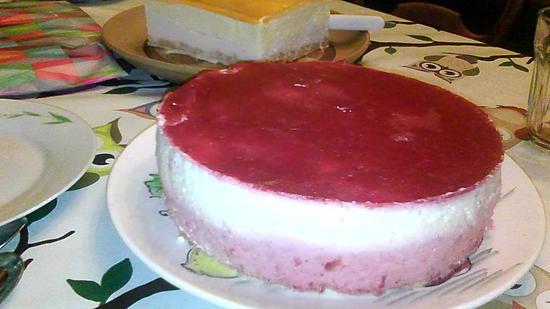 recette entremet fraise chocolat blanc