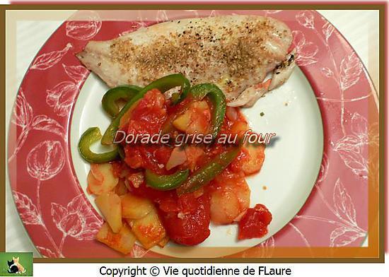 recette Dorade grise au four