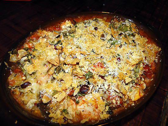 recette Gratin de poisson blanc, broccoli et tofu