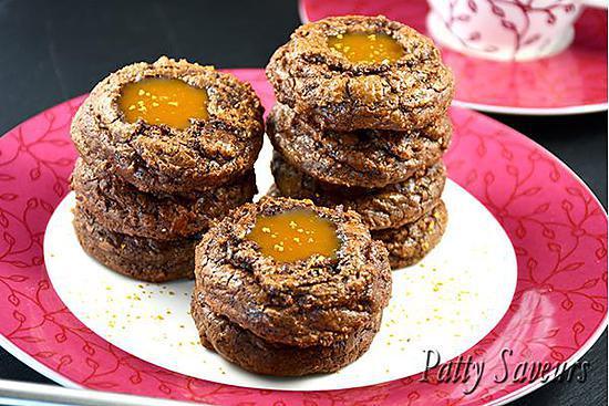 recette Brownie Cookies au Caramel au Beurre Salé