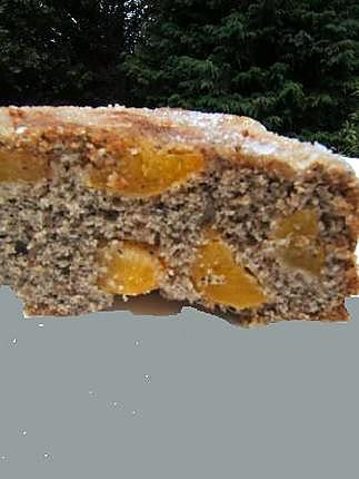 recette Cake à la farine complète de blé noir et abricot