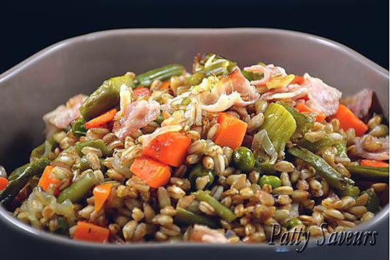 recette Epeautre Sauté aux Petits Légumes
