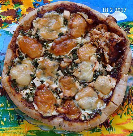 recette Pizza vide congelateur