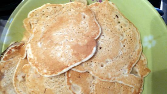 recette PAN- CAKES   MAISON BIO                                           » comme au CANADA »: