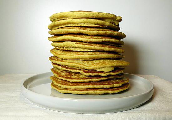 recette Pancakes sans gluten et sans lactose